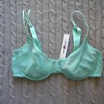 Cosabella Soire Venetian Green Mint Mesh Multiway 34d Bra Unlined See Through Photo