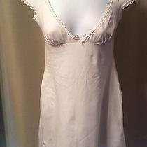 Cosabella White Cotton Modal Nighty Night Shirt  - Size Medium - Photo