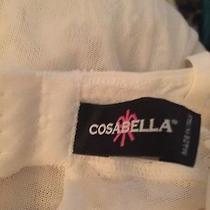 Cosabella White Lace Mesh Chemise Gown Bridal Lingerie Sz S Photo