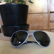Costume National 90s Metallic Purple Wrap Sunglasses -Opening Ceremony Totokaelo Photo
