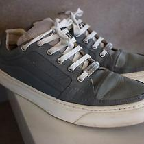 Costume National Active Lowtop Sneakers Mens Size 43 Grey Leather W.vinyl W Box Photo