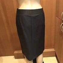 Costume National Black Pencil Skirt Classic and Elegant Size I 38 Photo