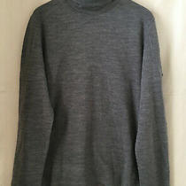 Costume National Home L/s Grey Turtleneck Sweater  Size 50 / Large Photo