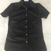Costume National Stretch Fitted Shirt Ity Size 38/ Uk 6 Photo