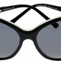 Costume National Sunglasses Women Rectangular Cn 5009 01 Black White Photo
