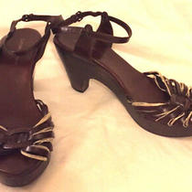 Costume National Womens Shoes Brown Size 39.5  Us 9 Photo