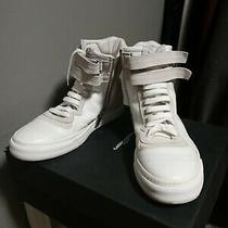 Costume National Zip Sneakers Italy Luxury 45 / 12 Shoes White Fashion Photo