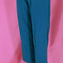 Cotton Bland Victoria Secret Yoga Large Capri Turquoise Color Hue Cropped Pants Photo