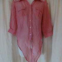 Cotton Express Sizes Small Pink Color  3/4 Sleeves New --- Low Price Photo