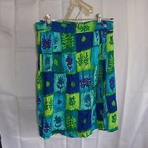 Cotton Express Women's Skirt Size Medium Multi Colored Above Knee Photo