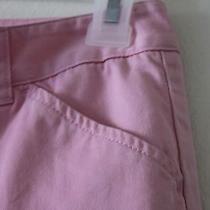 Cotton Pink J Crew Capris Pant Cotton Size 8 Photo