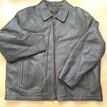 Cougar Leather Jacket Mens Size 2xl  Rn Nr 68773 Photo
