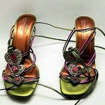 Couture Donald J Pliner Real Life Disney Princess Italian High Heel Sandals Photo