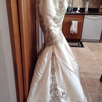Couture Reem Acra Wedding Dress Photo