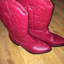 Cowboy Boots Red Photo