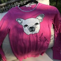 Cozy Pink Dog Sweater by Gap Size Xs Photo