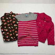 Crazy 8 Baby Gap Girls Bundle 4t Cupcake Vest Pink Jacket Photo