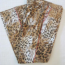 Crazy Fun Escada Leopard Print Pants Size 40 Euc Photo