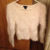 Crazy Fuzzy Beautiful Angora Rabbit Fur Sweater Photo