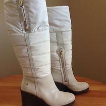 Cream Ugg Winter Boots  Photo