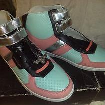 Creative Recreation Dicoco Sneakers Sz12 Salmon/blk/silver/tiffany-Discontinued Photo