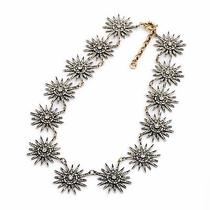 Crew Style Vintage J Statement Jewelry Crystal Radiant Lulu Necklace Sold Out Photo