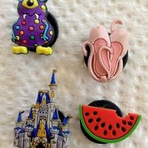 Croc Charms Lot of 4  Disney Jibbitz Photo