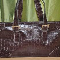 Croc Crocodile Hand Bag Tote Purse Photo