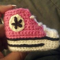 Crochet Converse Photo