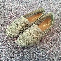 Crochet Gray Toms w6.5 Photo