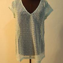 Crochet Top Small Green Photo