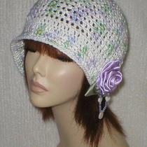Crochet Women 1920's Cloche Flapper Hat 17 Choices Photo