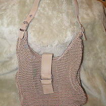 Crocheted Beige Purse Photo