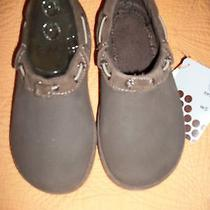 Crocs 5.5 Brown New With Box Photo