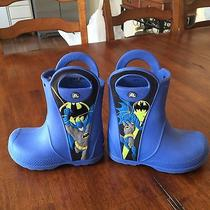 Crocs Batman Boots Children's 9 Photo