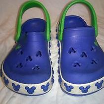 Crocs Blue Mickey Mouse Boys Us Size 6 Photo