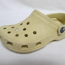 Crocs Boys Shoes Clogs Yellow Size 1 Photo