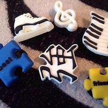 Crocs Charms-Puzzle Piecespiano Keys Chinese Symbol Skatemusic Note Photo