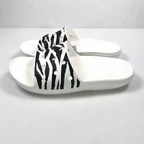 Crocs Classic Animal Print Slides Sandals Womens Size 8 Zebra Photo