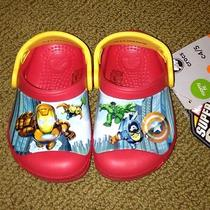 Crocs Classic Clogs Marvel Avengers 2 Red Multi Toddlers Us Size C 4/5 Photo