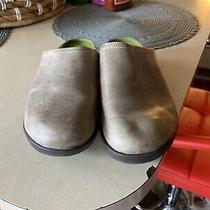 Crocs Cobbler Leather Clog Beige Mule Standard Womens Size 6 Photo