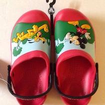 Crocs Disney Clog Kids Mickey Whistles C12/13 Photo