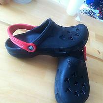 Crocs Disney Mickey Mouse Black Red M4 W6 Photo
