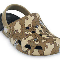 Crocs Electro Map Camo Childrens Clogs Photo