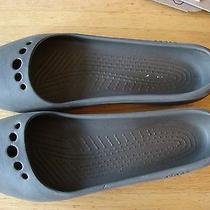 Crocs Flat Brown Womens Ladies Size 9 Dressy Flats So Comfortable Photo