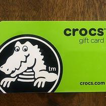 Crocs Gift Card - 300 Balance - Will Ship Same Day Photo