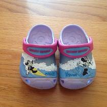 Crocs Girl Mickey Mouse Size 4/5 Photo