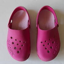 Crocs Girls J2 Pink Cute Photo