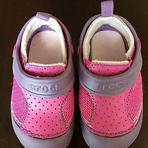 Crocs Girls Pink Purple  Photo