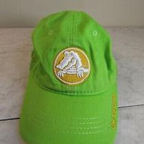 Crocs Lime/yellow Logo Cotton Embroidered Baseball Hat Youth Adj Photo